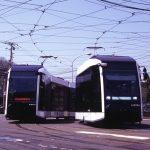 札幌市電に新型車両(シリウス)が配備。はやく乗ってみたい。